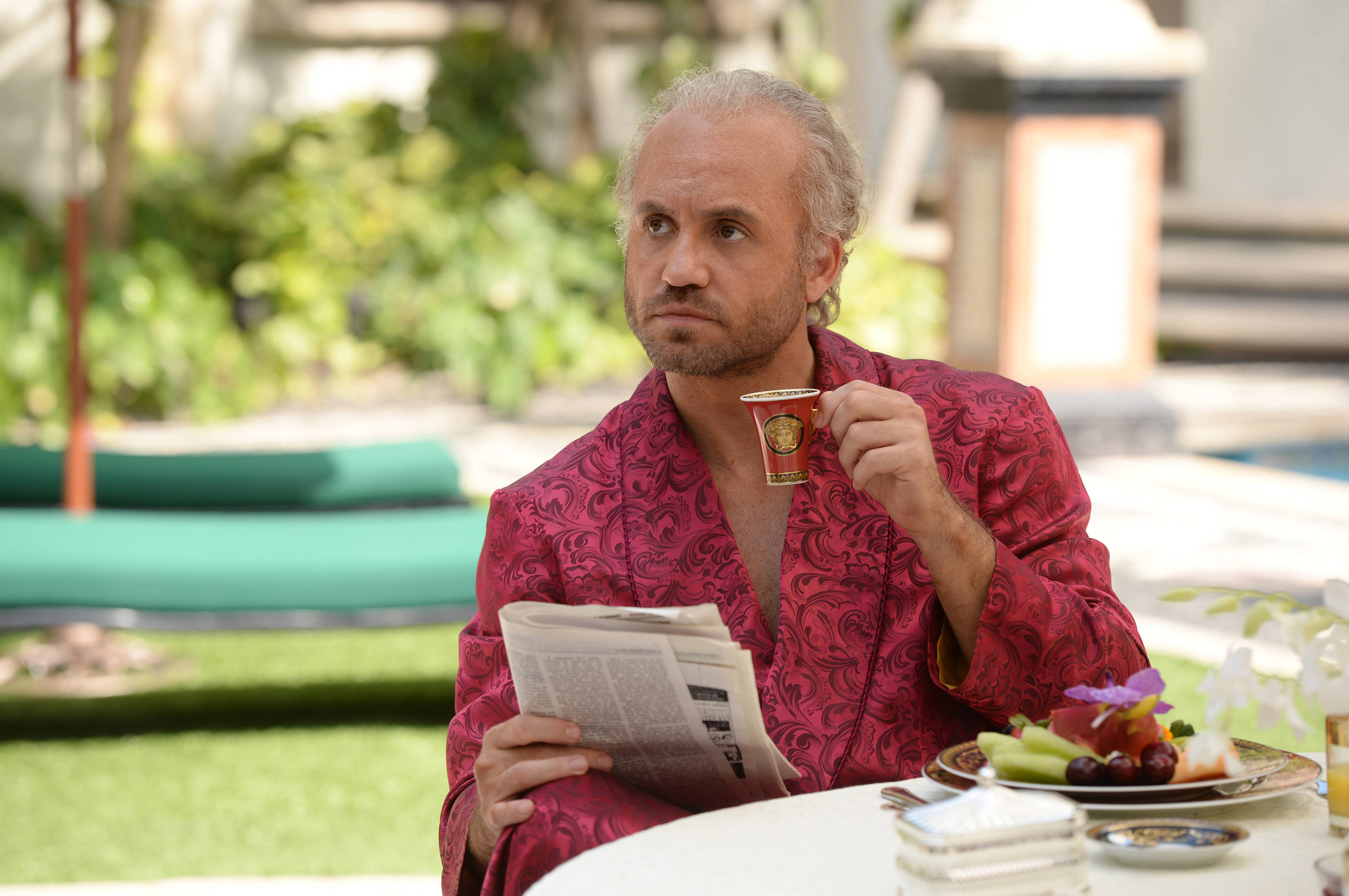 The Assassination of Gianni Versace: American Crime Story -- Pictured: Edgar Ramirez as Gianni Versace. CR: Jeff Daly/FX