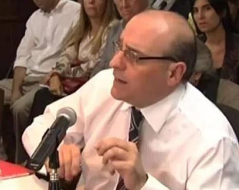 Fernández, operador judicial K y padrino de la hija de Rodríguez.