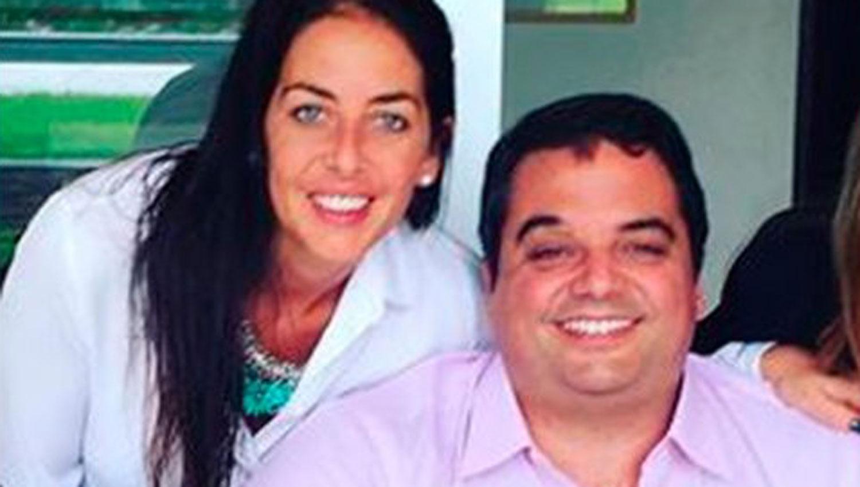 Mariana Triaca y su hermano. Uno de los cuatro parientes del ministro que deberán irse.