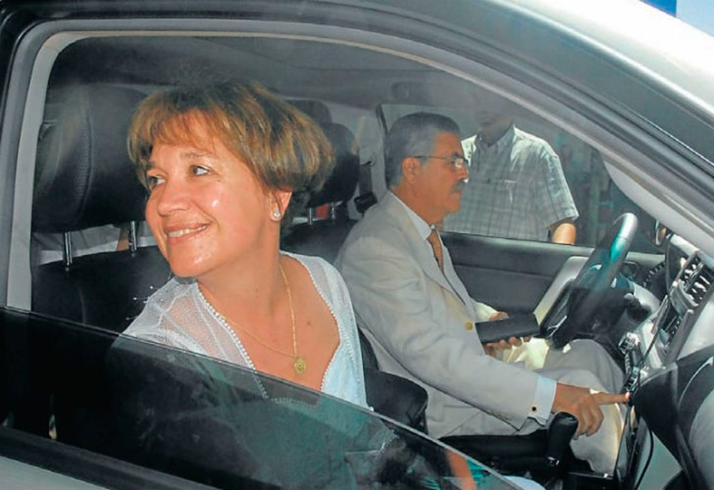 Minnicelli y De Vido, en tiempos de bonanza.