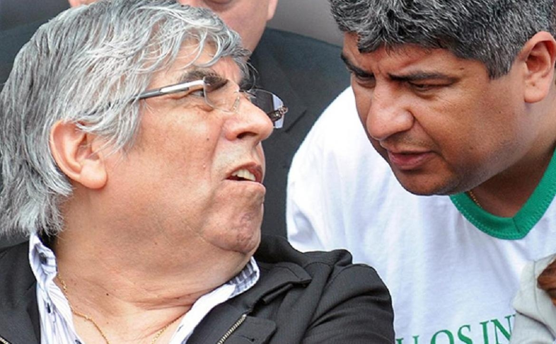 Hugo y Pablo Moyano, acusados de lavado.