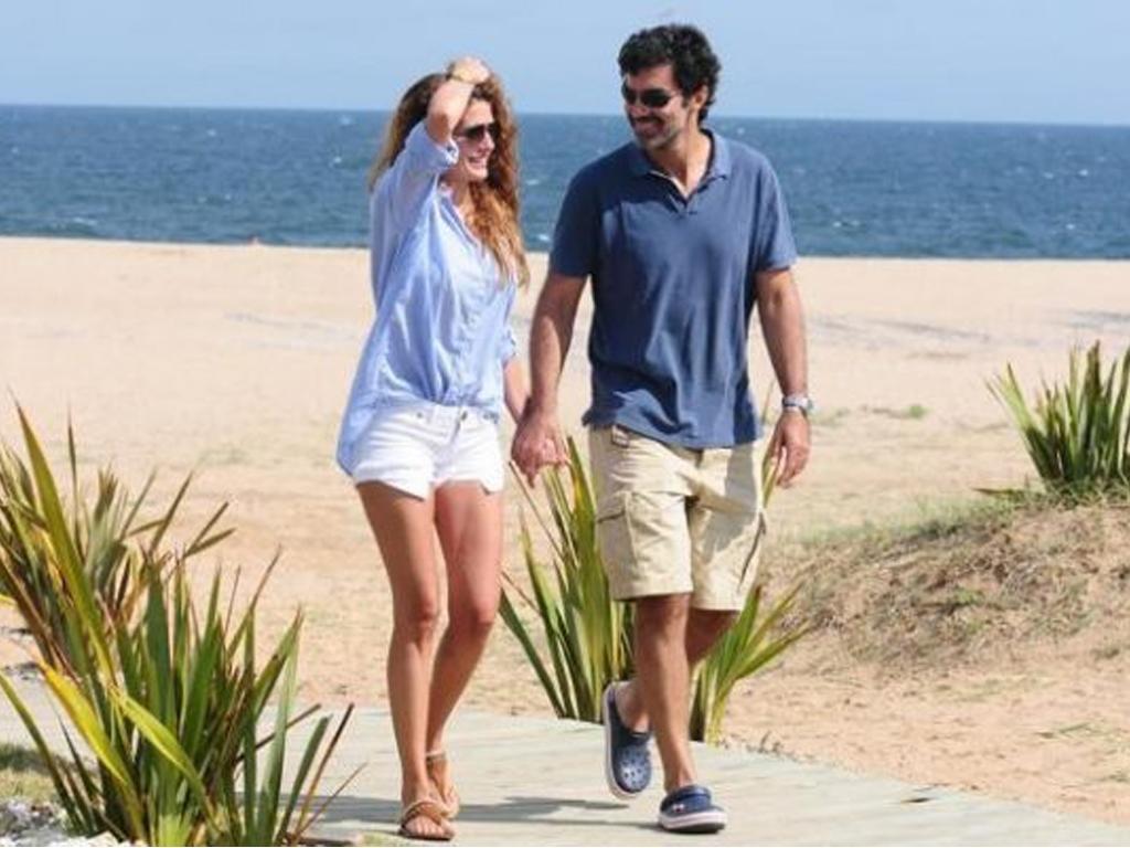 """Urtubey y su esposa, Macedo, en Punta del Este. ¿Planes contra la """"ola amarilla""""?"""