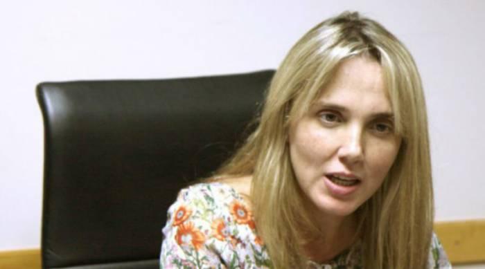 González, senadora y ex interventora del SOMU. La empleada Heredia fue contratada por su sucesor. Ella guarda silencio.