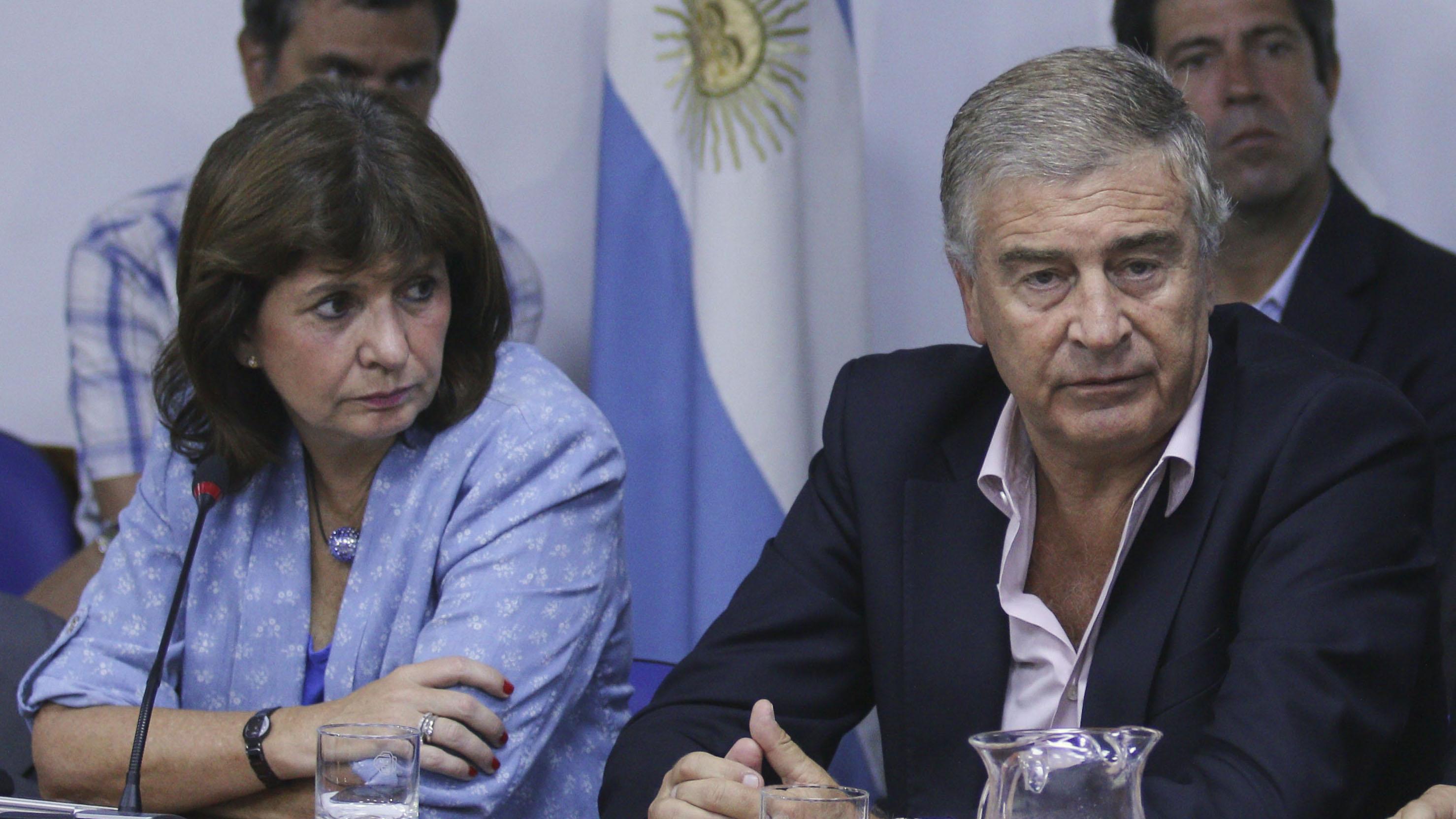 Bullrich y Aguad irán de gira a Estados Unidos. Narcotráfico, FBI y seguridad del G20.