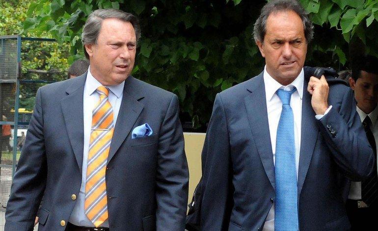 Scioli y su ex ministro Casal, el arquitecto judicial.