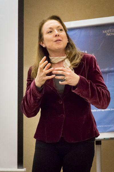 Monique Valcour. la especialista que usó su experiencia para testear el burnout.