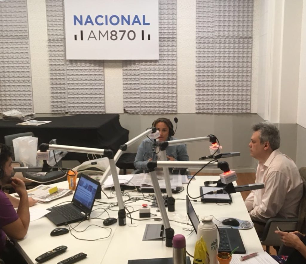 Galiani, en Radio Nacional.
