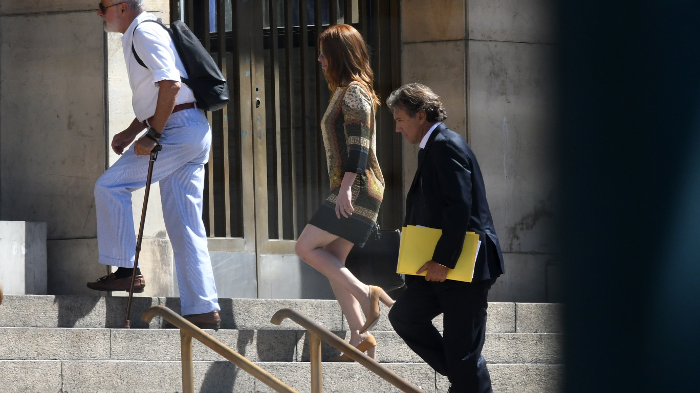 """Kampfer en Tribunales. La ex de Boudou dijo que le pidió plata a su ex cuñado porque con el ex vice estaban """"en crisis"""""""