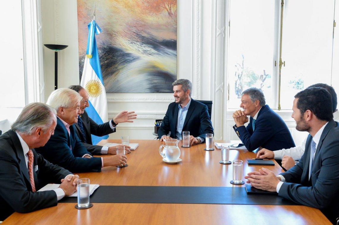 Peña y Cabrera, reunidos con la UIA.