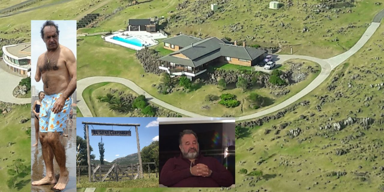 La última visita que recibió Balcedo en Punta del Este, antes de caer preso, fue la de Scioli