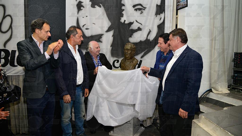 Scioli, en el homenaje al padre de Balcedo.