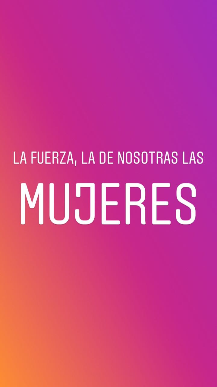 La Fuerza. La historia en Instagram.