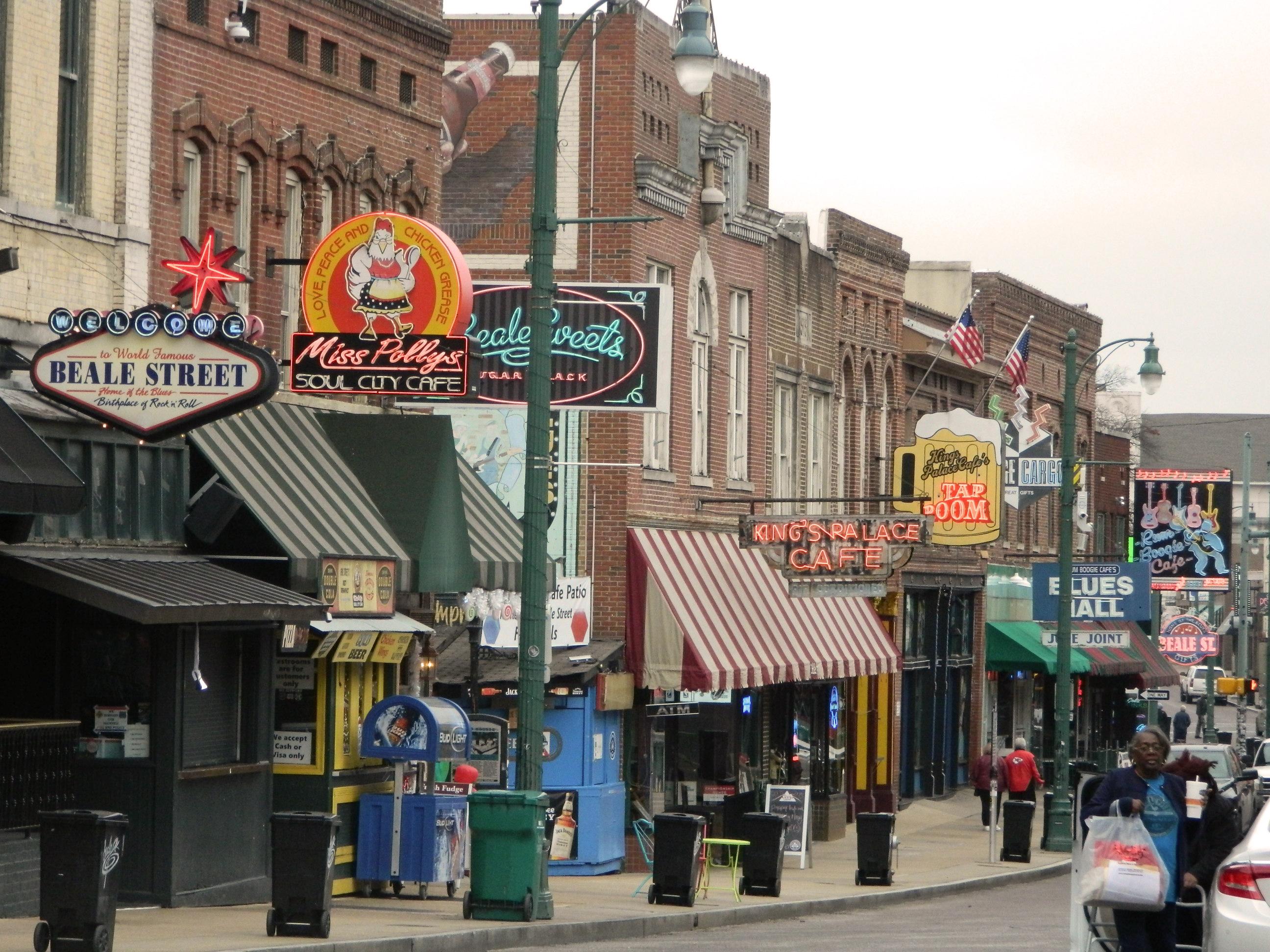 Memphis Beale Street hoy