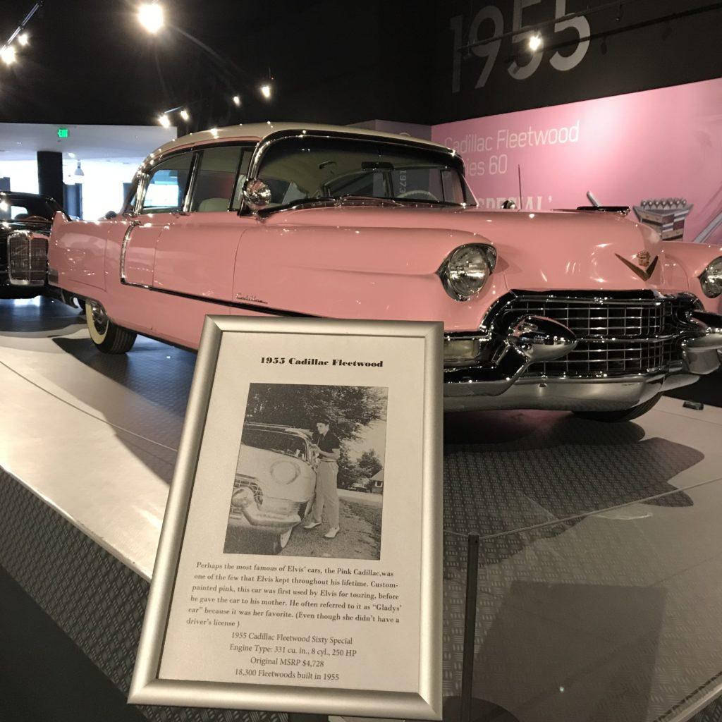 Presley Motors Cadillac Rosa 2