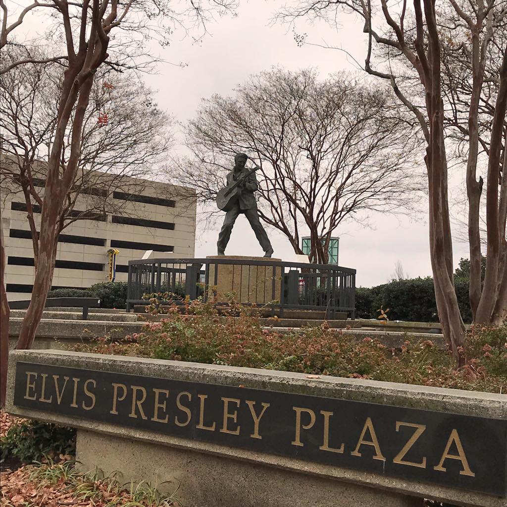 Presley plaza Memphis