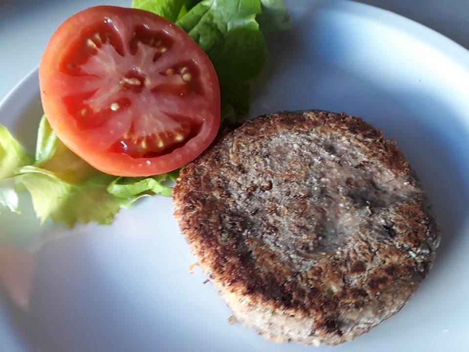 hamburguesa de lentejas border