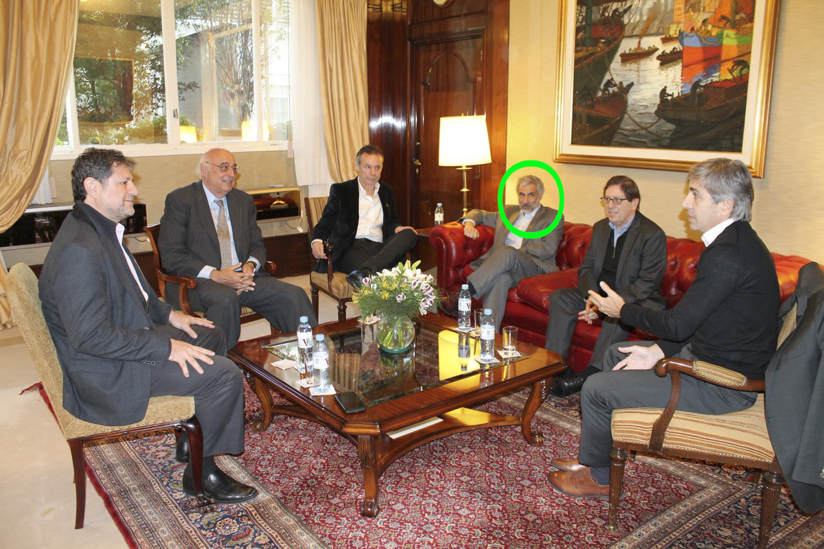 Canonero y Caputo reunion
