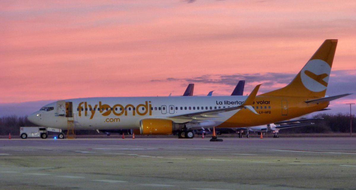Flybondi acumula 31 reclamos de usuarios por cada avión