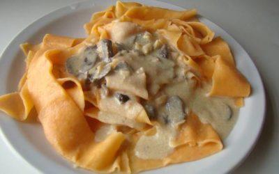 Recetas de Gricel: La pasta casera, fácil de hacer y con sabor a morrón