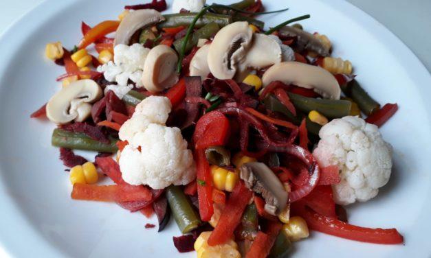 Recetas de Gricel: Un salteado de verduras primaveral