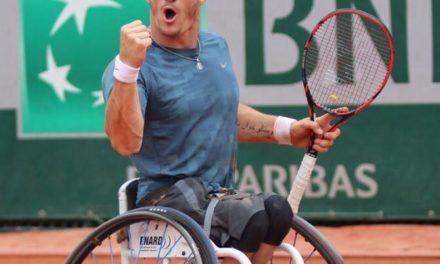 A punto de convertirse en un hito del tenis adaptado, Gustavo Fernández inspira con su historia