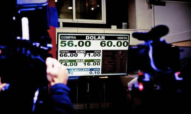 Jornada de pánico financiero tras las PASO