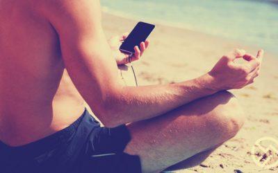 El auge de meditar o cuidar la salud con aplicaciones del celular