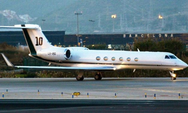 Macri alquiló el avión de Messi para viajar a Nueva York