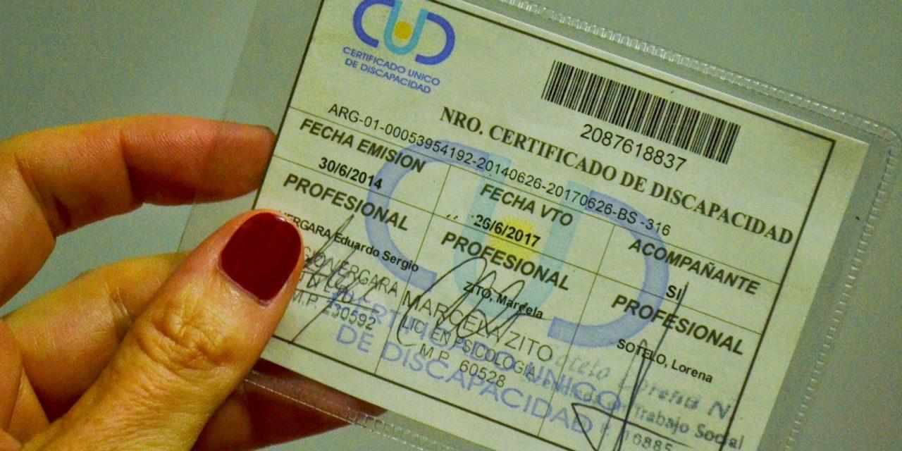 Resultado de imagen de certificado de discapacidad