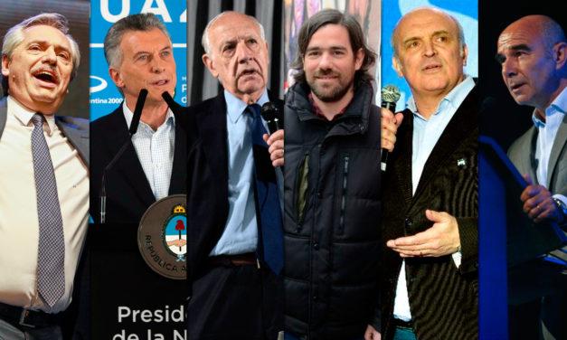 Cómo se preparan los seis candidatos a presidente para el debate en Santa Fe