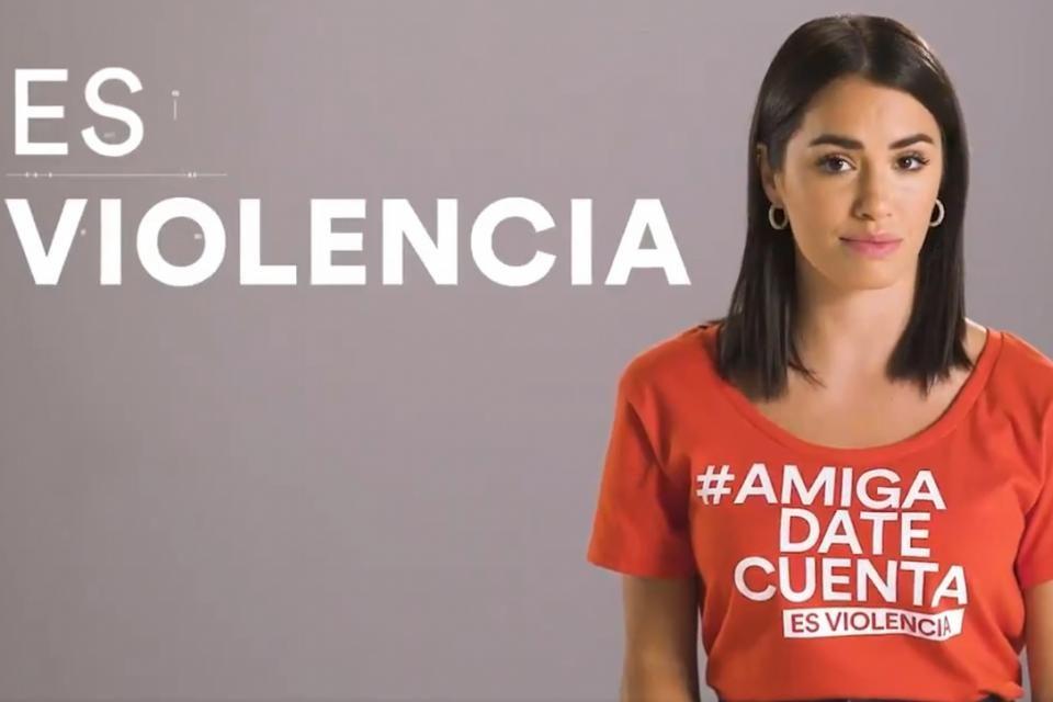#AmigaDateCuenta, la campaña digital contra la violencia hacia las mujeres