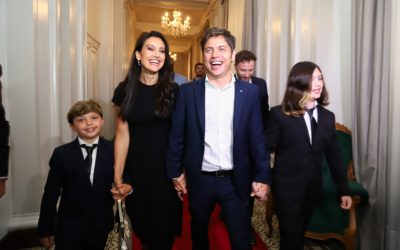 Cómo vive la familia Kicillof en el Residencia del Gobernador en La Plata